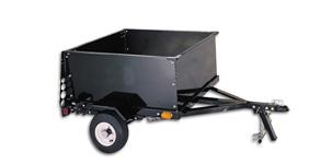 Small Cargo Trailers >> 40 X 50 Small Cargo Box Utility Trailer W 1000 Lbs Capacity