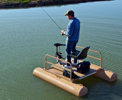 Brand new 6 ft one person mini pontoon fishing boat for One man fishing boats