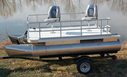 Brand new 12 ft two person sport pontoon fishing boat for 2 man fishing boat