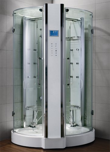 Zen Luxury 2 Person Walk In Steam Shower 53 X 53 X 90