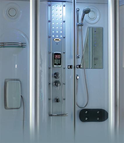 zen brand new steam shower w jetted tub